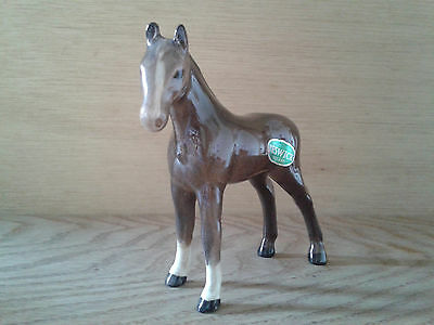 Early Beswick Small Thoroughbred Foal No.1816 (Facing Left) Brown Gloss