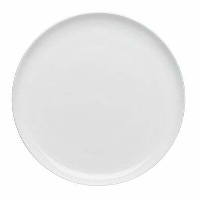 Ecology - Canvas White Fine Bone China Dinner Plate 27cm