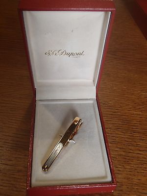 Vintage Pince A Cravate S.t Dupont Paris