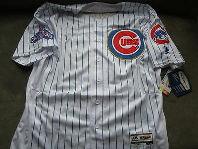 Chicago Cubs Kris Bryant Gold 2016 WS Champions Home Jersey 48 XL