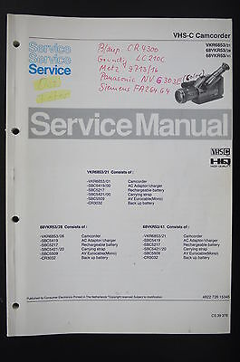 PHILIPS VKR6853/68VKR53 Original Service-Manual/Anleitung/Schaltplan/Diagram o88