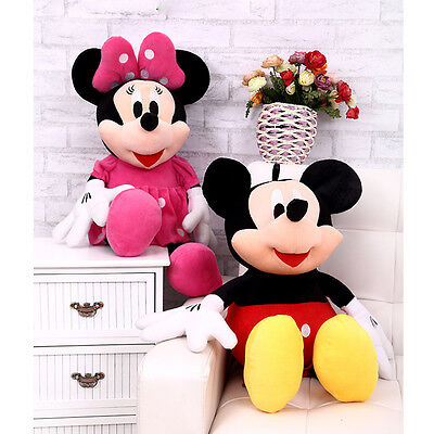 Disney Studio Mickey Mouse Clubhouse Mickey & Minnie Plush Soft Toy Animal Dolls