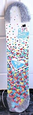 Girls Roxy Jnr Snowboard Love Hearts Size 107 No Bindings From Usa Bnip Rp$400+