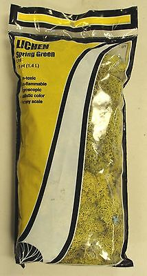 Woodland Scenics L161 Lichen Spring Green (1.5 Quarts) All Scales - NEW
