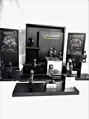 GRAHAM London  Uhren Display Komplett Neu  !!!!