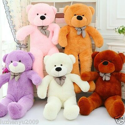 2016 New Giant Huge Big Stuffed Animal Teddy Bear Plush Soft Toy Cute Gift