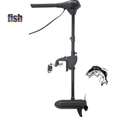 "R3-40 Industry Leading Hand Control Transom Mount Trolling Motor: 40lbs-36""-12V"