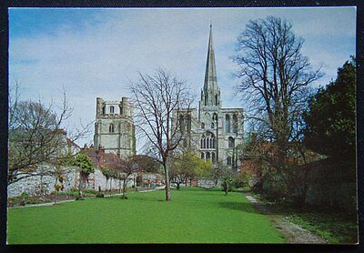 Chichester Cathedral West Front c2000's Greetings Christmas New Year Card (P247)