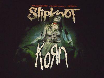Slipknot Tour Shirt ( Used Size 2XL ) Very Nice Condition!!!