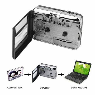 Tape to PC USB Cassette & MP3 CD Converter Capture Digital Audio Music Player UK