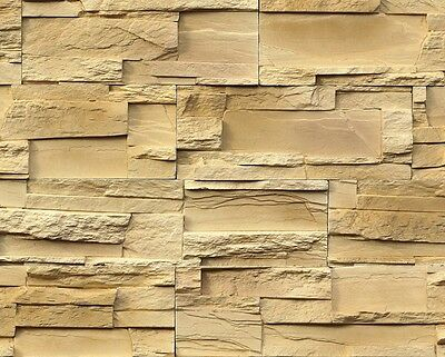 Cotswold Cream cast stone cladding panels - Stone effect wall tiles