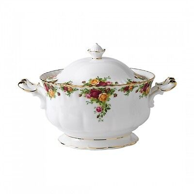 Royal Albert Old Country Roses Soup Tureen Bone China New with Tag