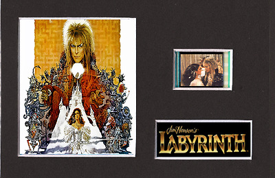 Labyrinth replica 35mm Mounted Film Cell Presentation 6 x 4