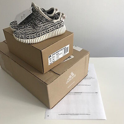 Adidas Yeezy Boost Turtle Dove 350 EU 25 Infant New