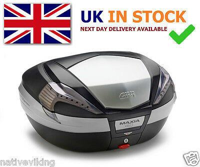 GIVI V56NT MAXIA 4 TOP BOX new 56 L CASE MONOKEY black ALUMINIUM ARMOR luggage
