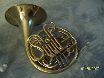 Atkinson F/Bb Full Double French Horn, Yellow Brass