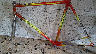 Frame and fork colnago master olympic