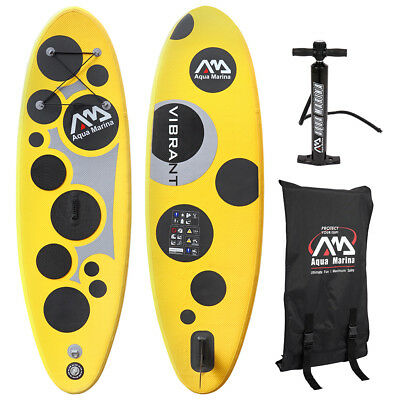 "Aqua Marina 8'7"" Kids Vibrant Inflatable Stand Up Paddle Board Pump+Accessories"