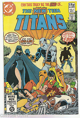 NEW TEEN TITANS #2  -  1st  APP OF DEATHSTROKE   NM