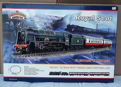 "Bachmann Branch-Line 30-020 ""Royal Scot"" - BOX, POLY TRAY & PLASTIC TRAY ONLY"