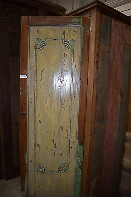 Indonesian Bali Antique Hand Carved and Crafted Armoire Cabinet