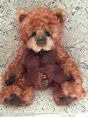 Charlie Bears BINGO 2012 Isabelle Mohair Collection FREE US SHIP