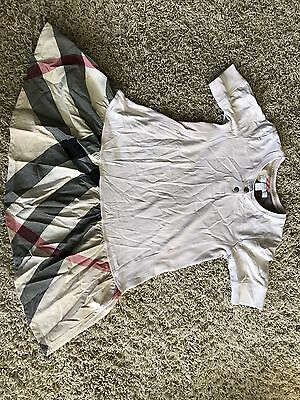Authentic Burberry girls Dress kids size 6y, 116 Cm Burberry Run Small fit 4y 5y