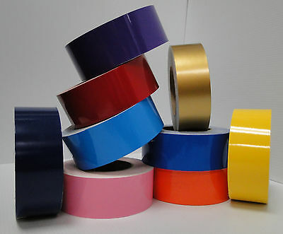 6 INCH x 150 ft Roll Vinyl Pinstriping Vinyl Striping Tape 25 Colors Available!