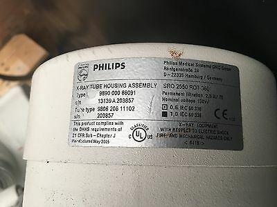 Philips Xray tube SRO 2550 ROT 360