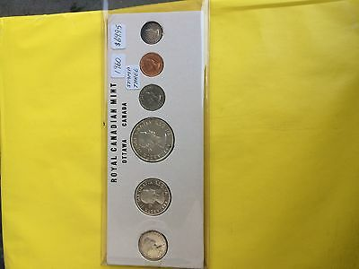 1960 Canada Silver Six Coin Set  Stamp #3
