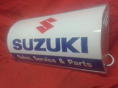 suzuki,lightup,sign,illuminated,classic,display,mancave,garage,shed,bandit,bike