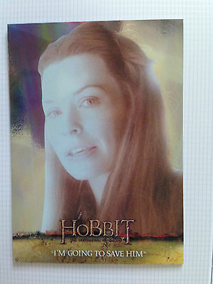 The Hobbit Desolation of Smaug Foil Parallel Base Card Number 64
