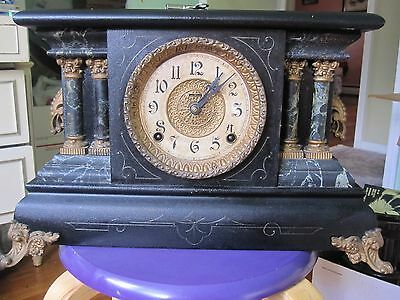 Vintage Clock At Leaset 50 Years Old And Up(Eingraham/co)Bristol,c T  Usa