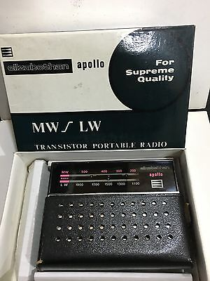 Vintage Elizabethan Radio  Am(Mw)- Lw Bands From The 1960S+Box