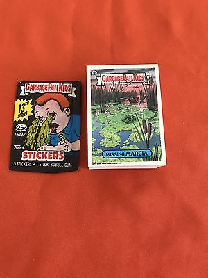 Garbage Pail Kids 13th Series 88 Card Complete Set Excellent Condition!