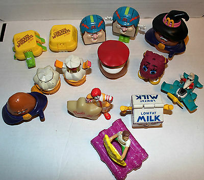 Vintage Mcdonald's Happy Meal Toys (14) Including Transformers (7)