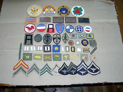 Miscellaneous lot US military patches