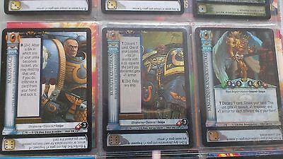 WH30K Horus Heresy cards collection CCG trading cards