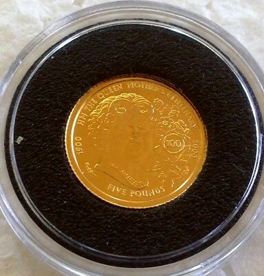 1999  Queens Mother  24 Ct Gold  Coin