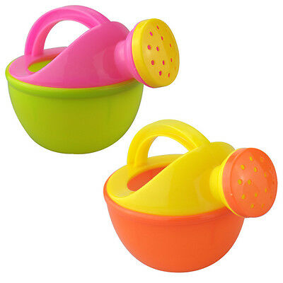 Children Kids Lovely Watering Can Kettle Garden Tools Sand Pot Toy Random Color