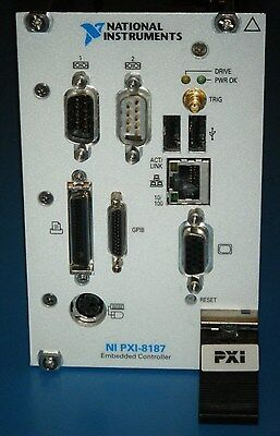 NI PXI-8187 Controller, 2.5Ghz/60GB/1GB, XP Pro, National Instruments *Tested*