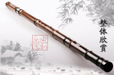 2 Sections Purple Bamboo Flute Xiao,Professional Instrument Chinese Shakuhachi
