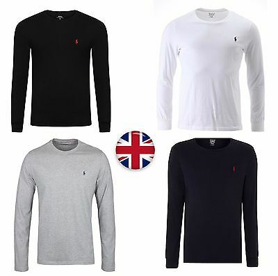 NEW Ralph Lauren Polo Men's Crew Neck Long Sleeve T-shirt