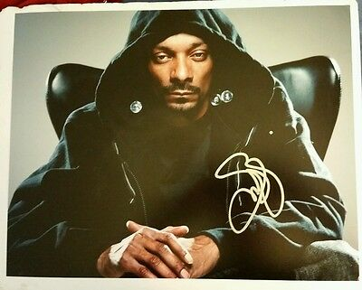 Snoop Dogg autographed 11x14 photo signed in person