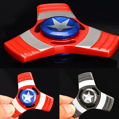 Fidget Finger Spinners Hand Focus Spin Aluminum Alloy EDC Bearing Stress Toy UK