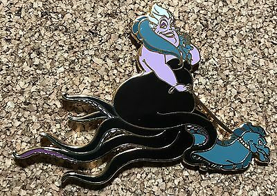 RARE Disney Auctions LE 100 Mermaid Villain URSULA Flotsam Jetsam Jumbo Pin