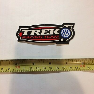 Trek Volkswagen Racing Team Bicycle Bike Decal Sticker Original Free Shipping!!