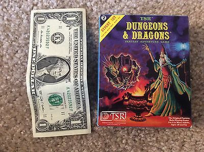 Dungeons and Dragons D&D Expert mini rpg box set OOP ULTRA RARE