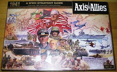Axis and Allies 1941 Board Game MINT CONDITION! AVALON HILL/Wizards of the Coast