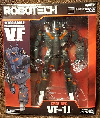 Robotech Spec Ops VF-1J Transformable Veritech Fighter ~ Lootcrate DX Exclusive
